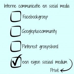 interne communicatie social media