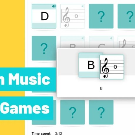 Gamification memory game with sound example