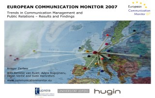 ECM European Communication Monitor Report 2007 Communication Management Public Relations Trust communication channels instruments