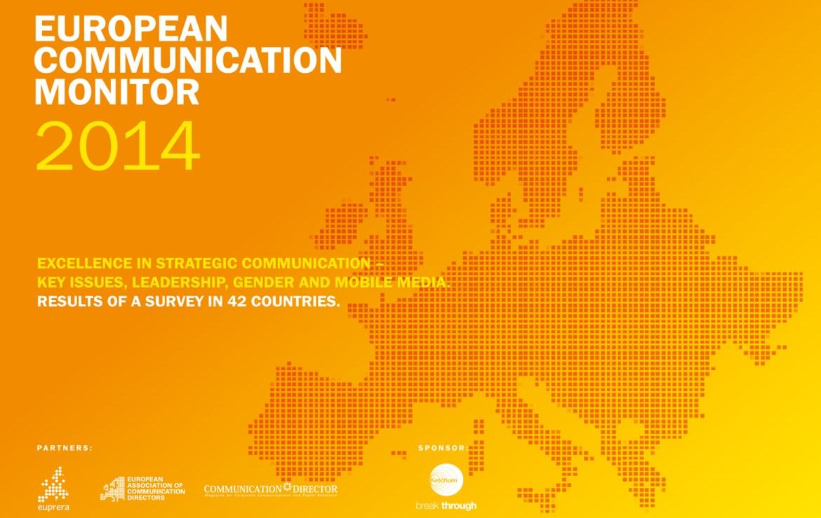 ECM European Communication Monitor Report 2014 Excellence in Strategic Communication Leadership Gender Mobile Communication Social Media
