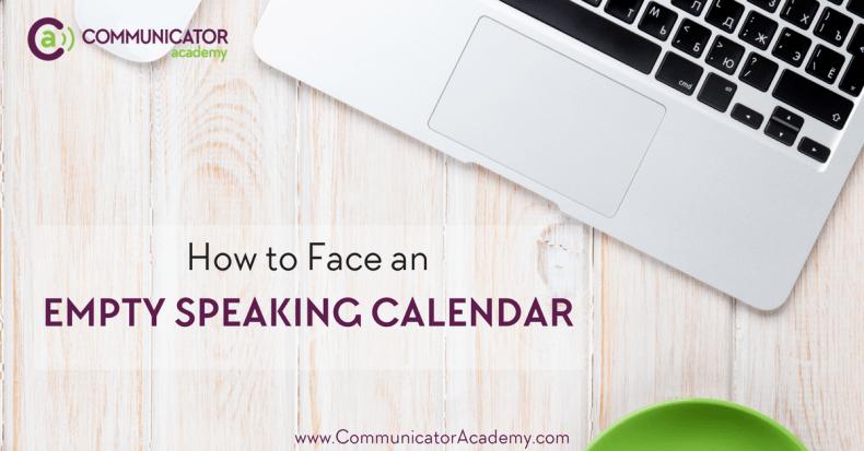 Empty Speaking Calendar