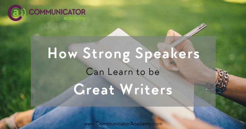 Learn to be great writers