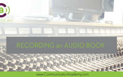 Eps #61: The Most Surprising Things About Recording an Audio Book and How to do it Well
