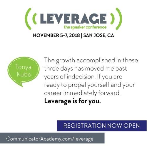 Leverage Invitation