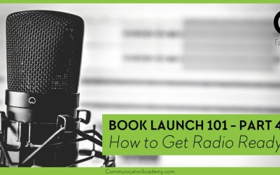 Eps. #104 Book Launch 101: How to Get Radio Ready