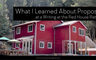 Episode 155: What I learned about Book Proposals at a Writing at the Red House Retreat