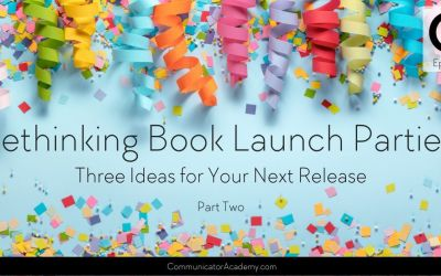 190 Rethinking Book Launch Parties – 3 Ideas for Your Next Release Part 2