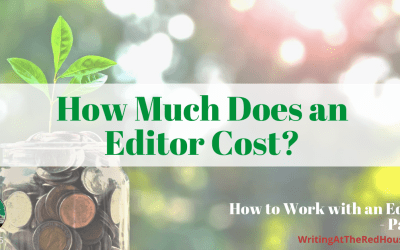 205 How to Work With An Editor: How Much Does an Editor Cost? Part 3
