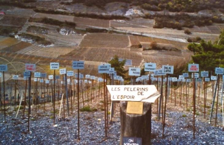 Les vignes de Farinet : un signe de paix et de communion pour le monde !