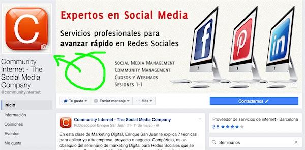 Facebook cambia la pagina de empresa por enrique san juan community internet