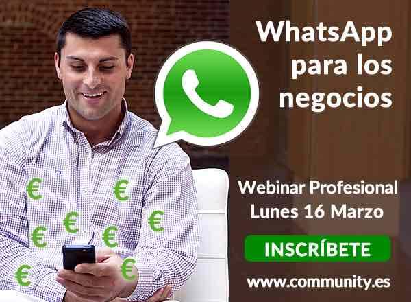Whatsup para los negocios community internet con enrique san juan