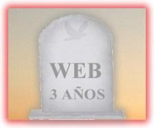 Una web de más de tres años - Community Internet