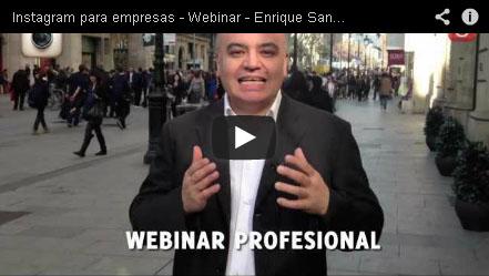 webinar profesional instagram para empresas community internet enrique san juan redes sociales social media