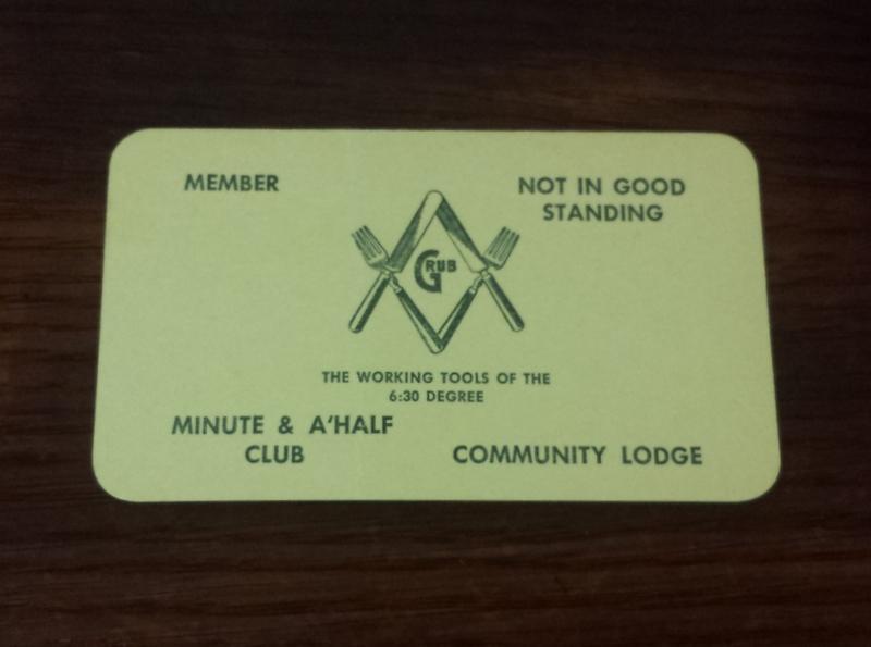 Minute & A'Half Club