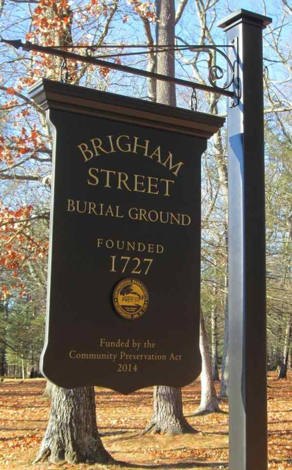 Historic Signs Installed Recognize Three Northborough