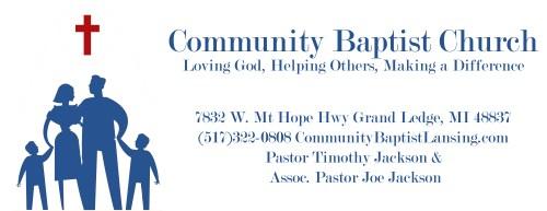 small resolution of community baptist church of lansing