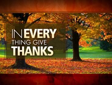 Thanksgiving | Gratitude