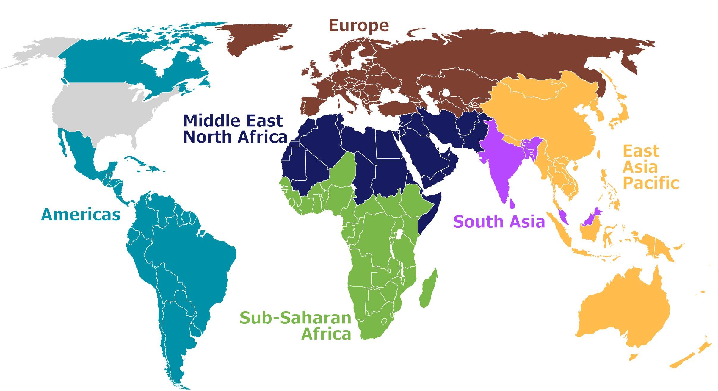 6 World Regions W Names Nov