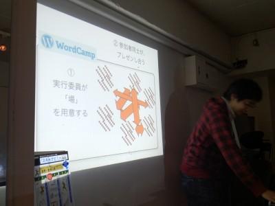 星野が見たWordCamp Tokyo 2012の裏側