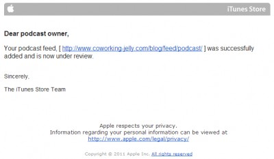 WordPressを更新してiTunes Storeに自動的にPodcastを配信した実体験その後