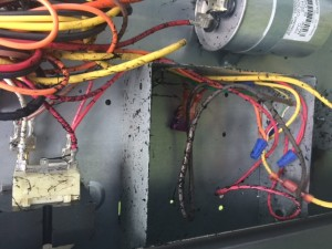Start Capacitor Explosion
