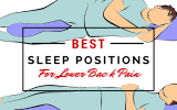 How to sleep better for lower back pain