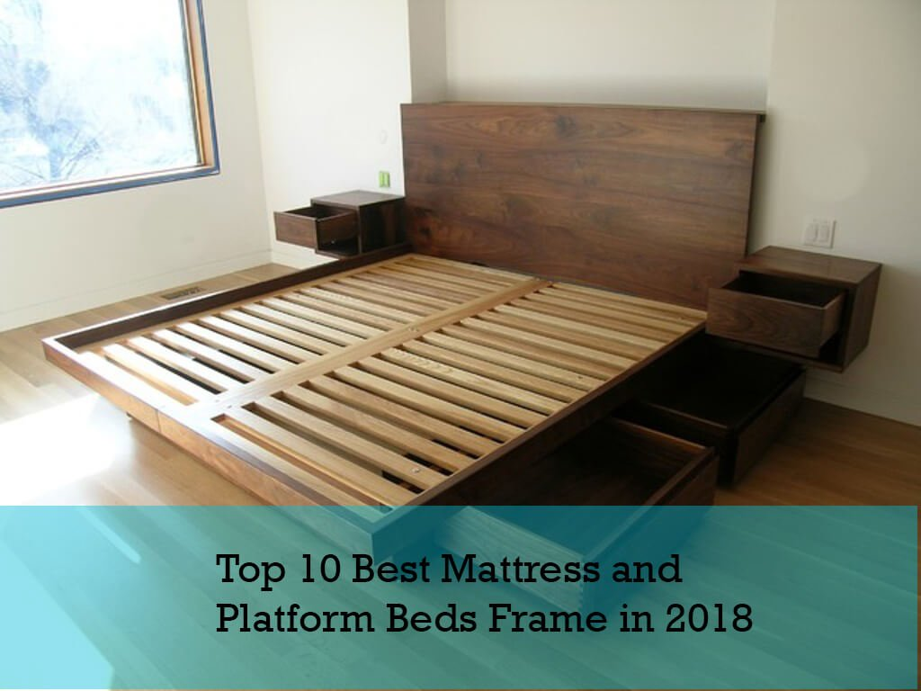 pretty nice 39301 0afdd Top 10 Best Mattress for Platform Beds Frame – Community Counts