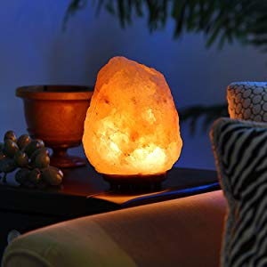 Natural Salt-Based Lamp with Built-in Air Purifier