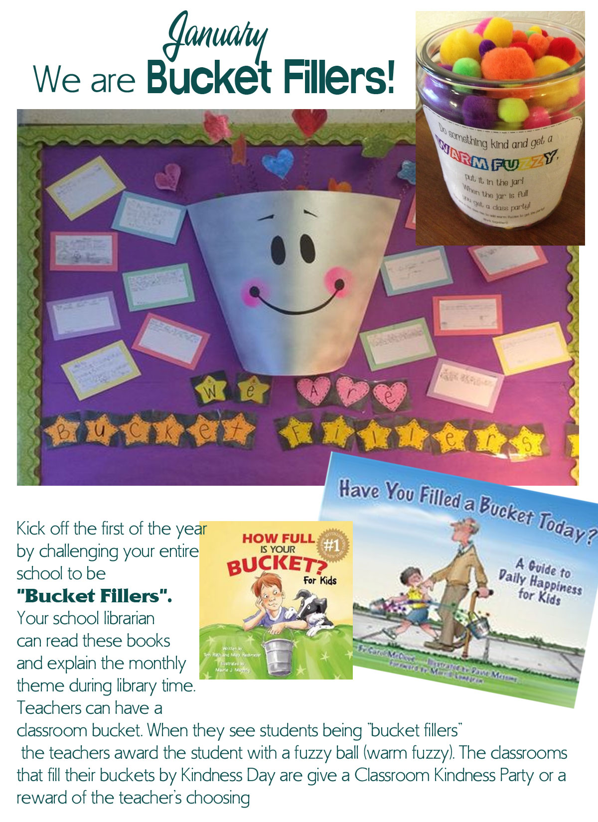 Community Kindness Movement Blog Archive January Kindness Day We Are Bucket Fillers