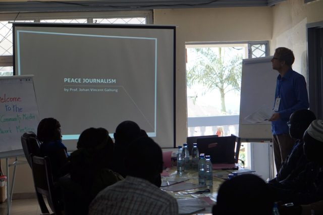 Presentation on Peace Journalism