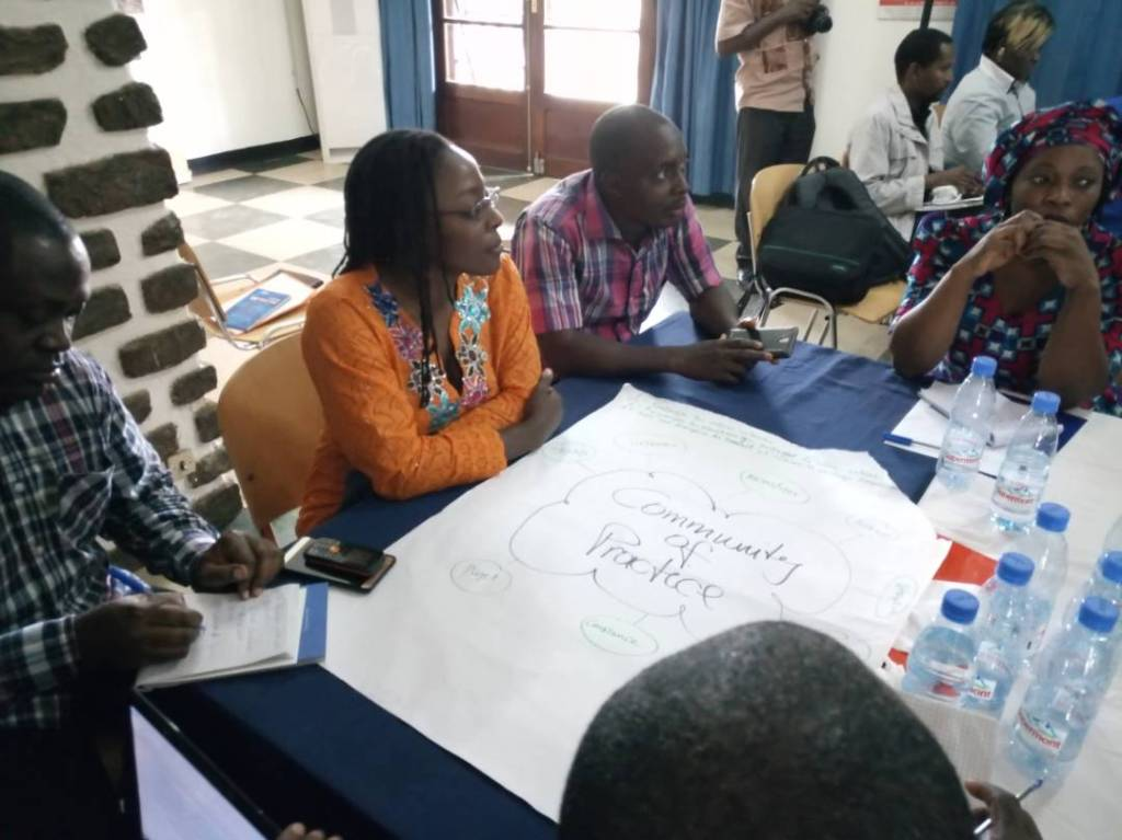 Group work on potentials of networking