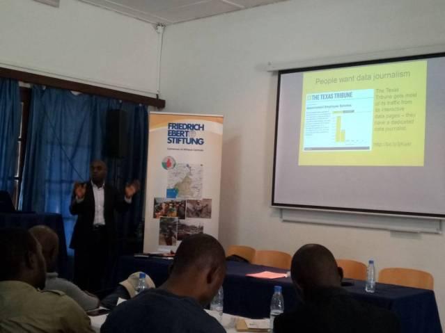 Key note of Charlie Ngounou on Data Journalism