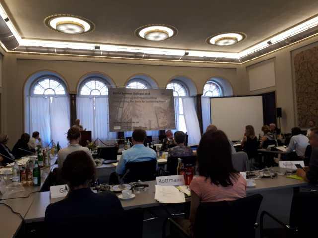 Berlin Summer Dialogue 2018