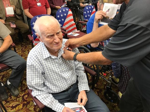 Ohio's Community Mercy Hospice And Mercy Health Oakwood Village Senior Living Join In Honoring Veterans
