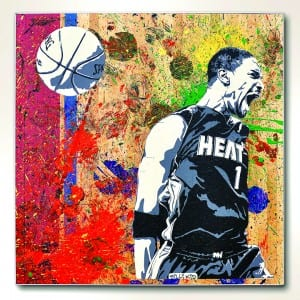 Art of Basquetball Heat Wave party