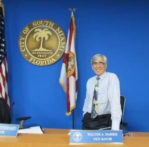 Walter Harris, Vice Mayor, City of South Miami