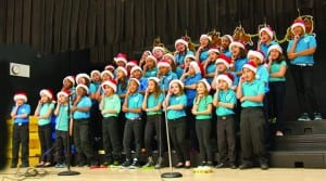 Whigham Elementary Chorus performs in holiday concerts