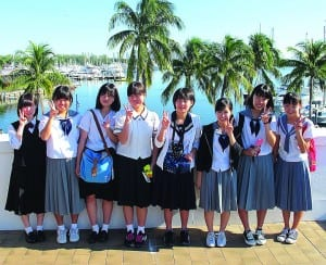 Miami seen through Japanese student-exchange eyes