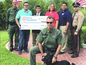 PTS 11th grade student gets $10K grant for K-9 non-profit organization