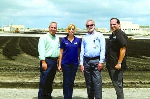 Town officials tour county's water/sewer treatment plant