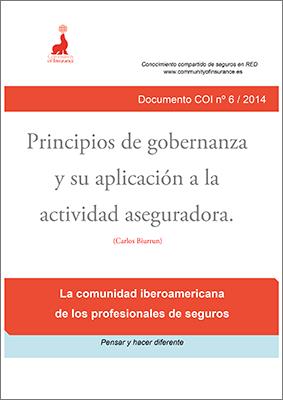 Informe 06 / 2014: Principios de gobernanza y su aplicación a la actividad aseguradora