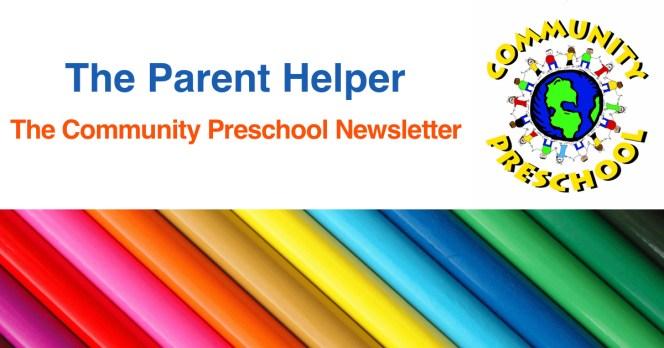 Newsletters Community Preschool