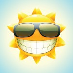 Sun-with-glasses