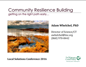 Whelchel_Community resilience building