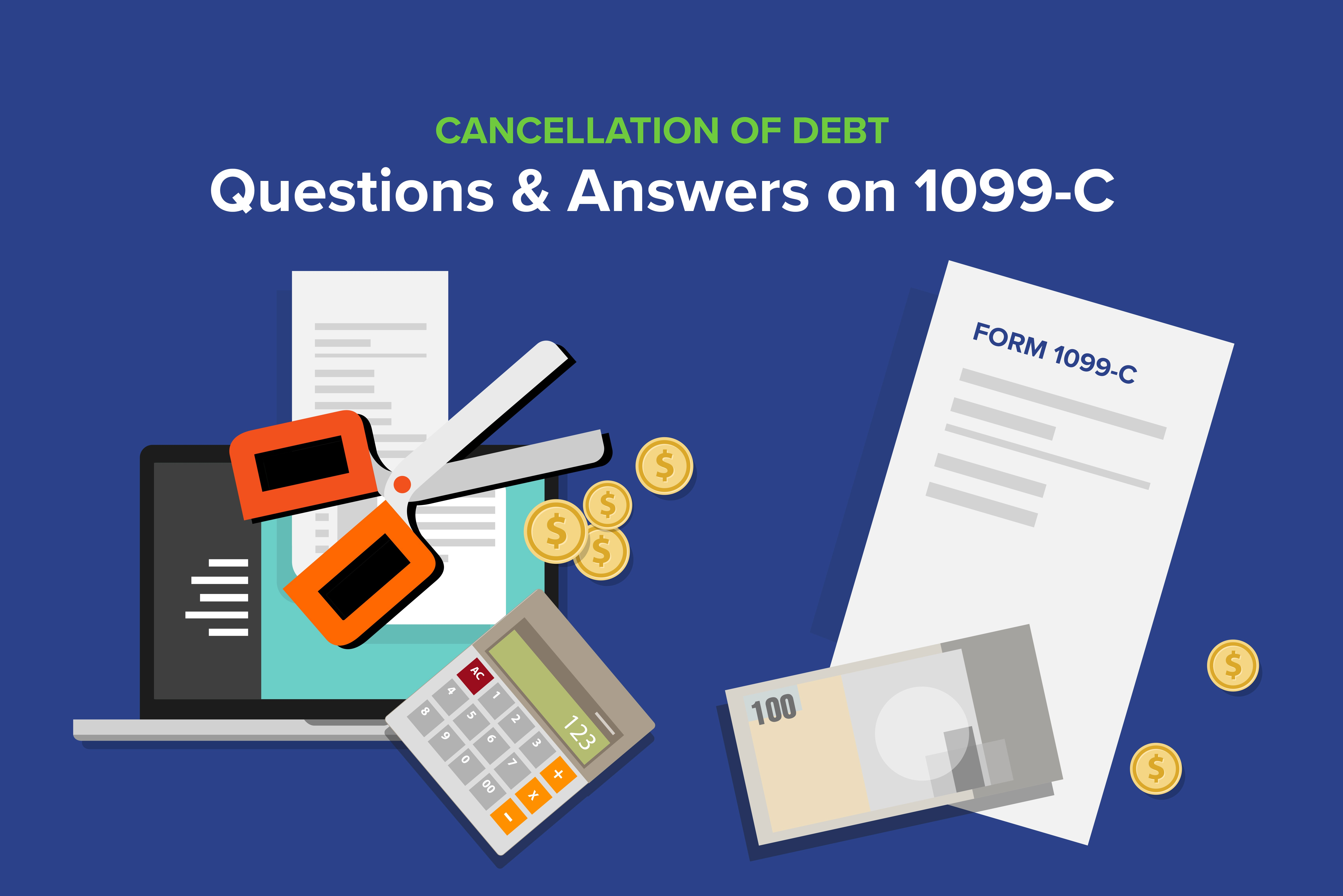 Cancellation Of Debt Questions Amp Answers On C