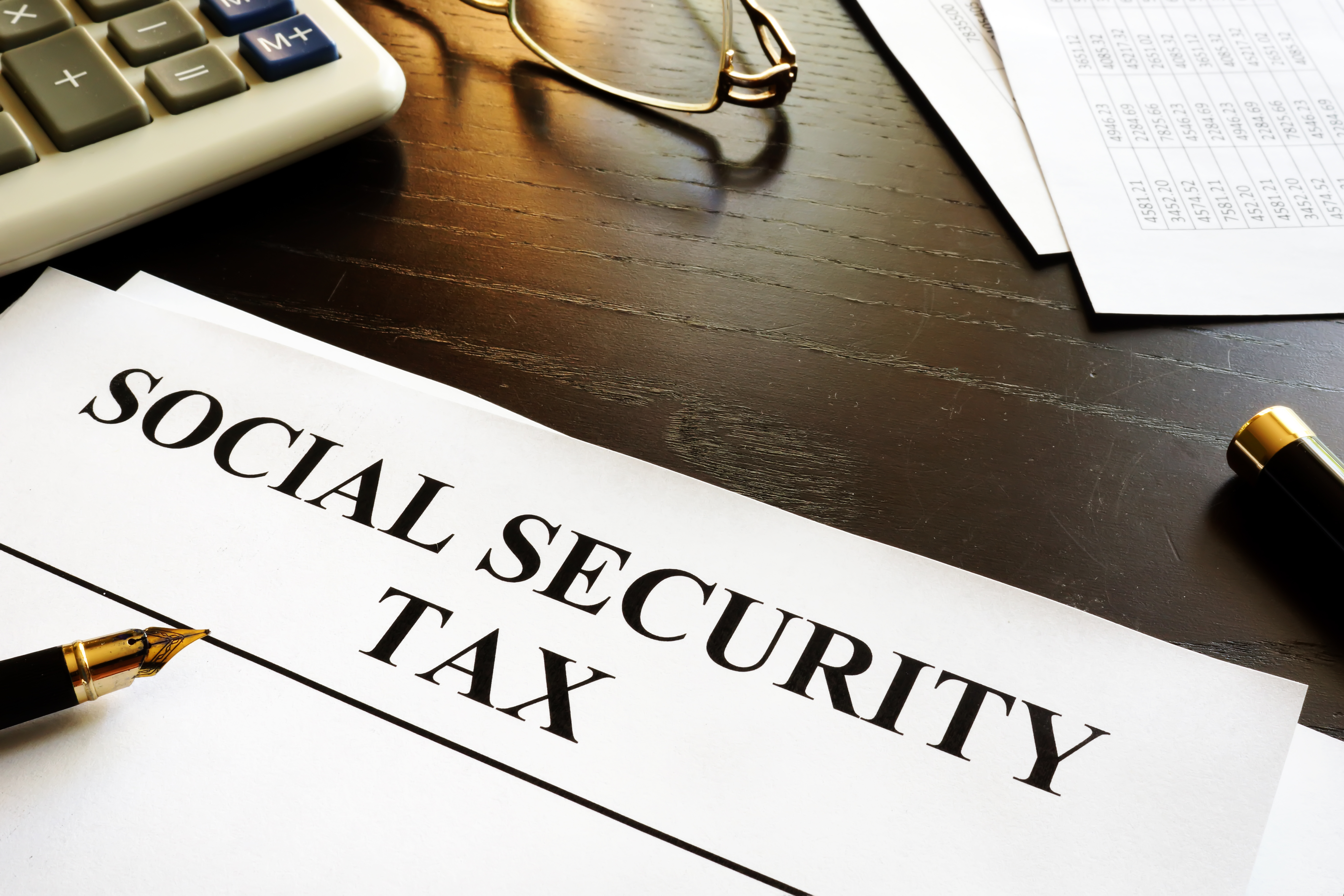 Irs Form Social Security And Medicare Tax On