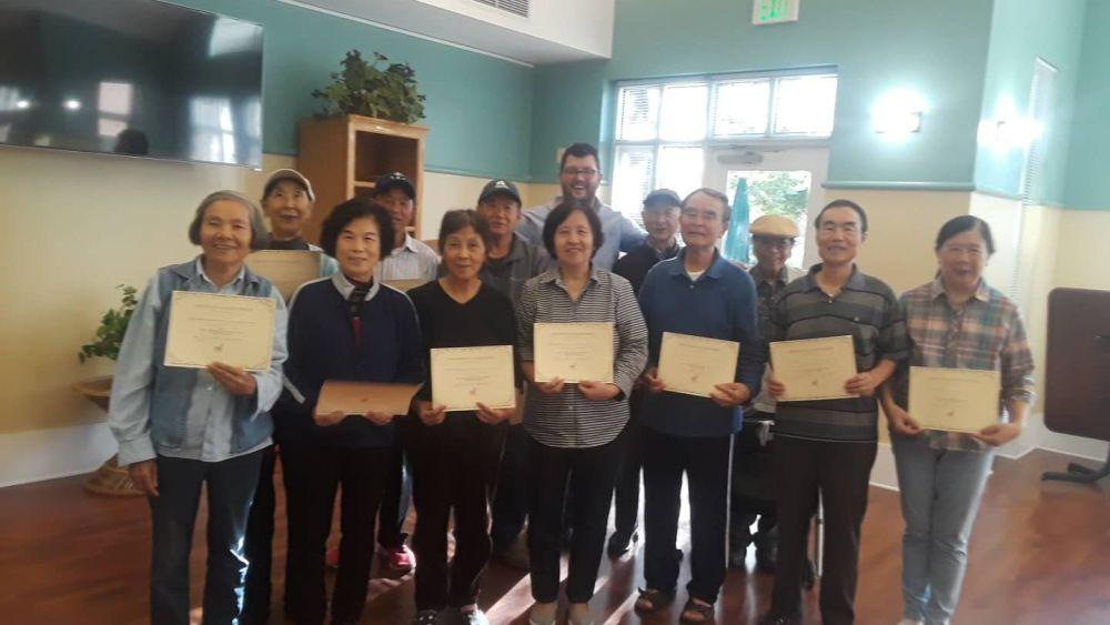 Graduates from the CPM program
