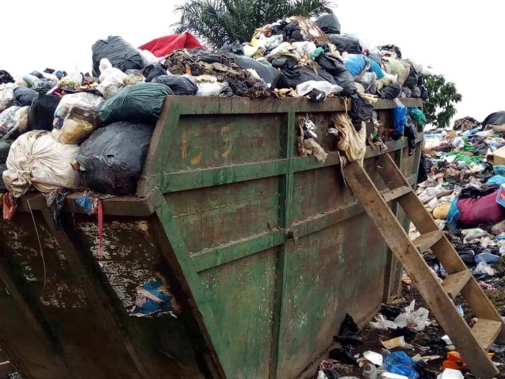 Garbage at dumpsite in Sepe-Buokrom