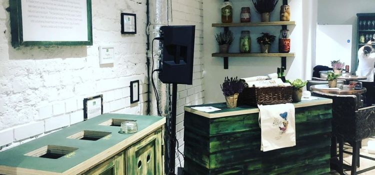 The Wood Store Brighton decorates new zero-waste restaurant