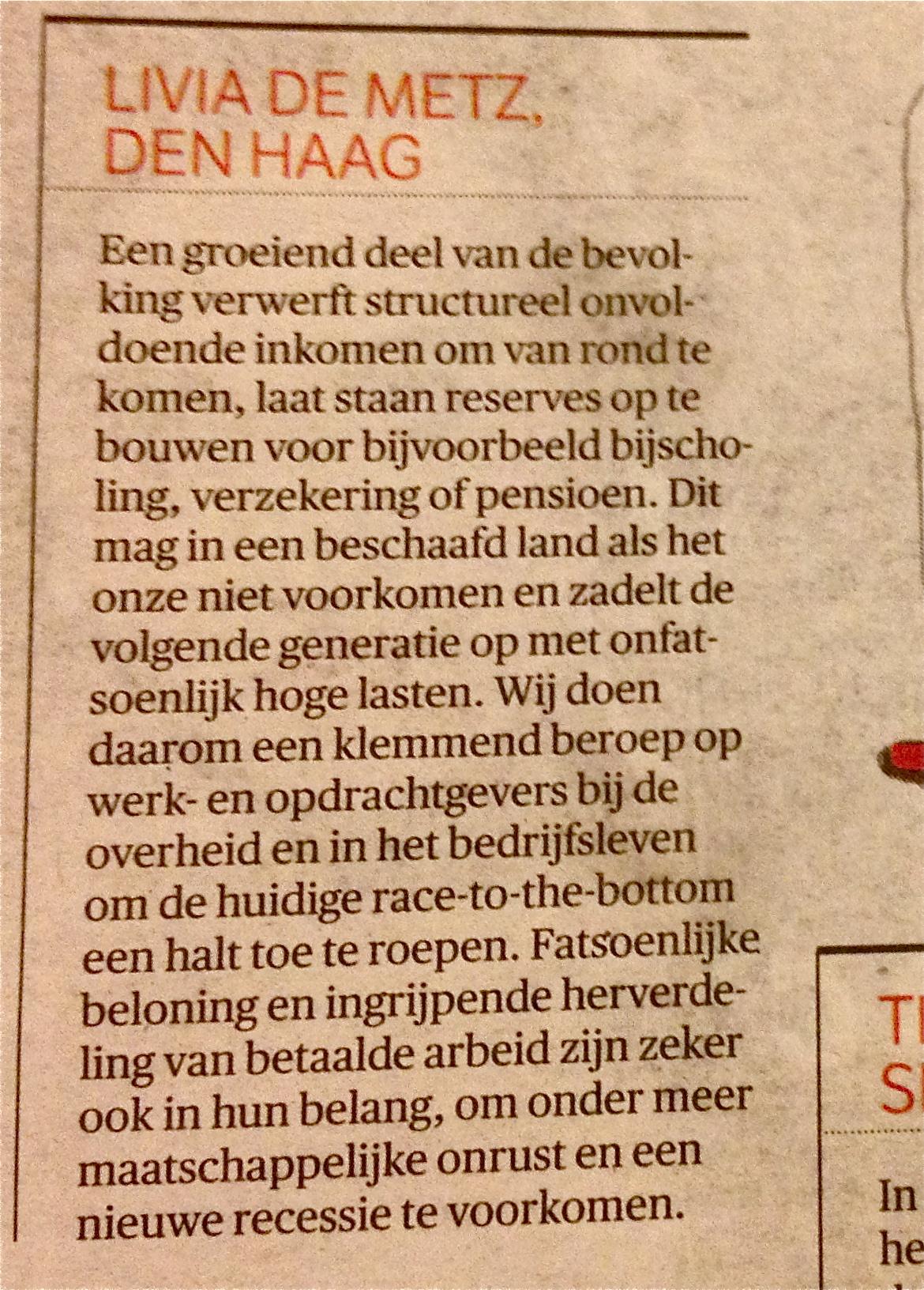 Beeld Commutaal Den Haag